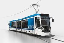 Tramvaj Metelitsa, se kterou výrobce nedávno uspěl ve výběrovém řízení v ruském Petrohradě.