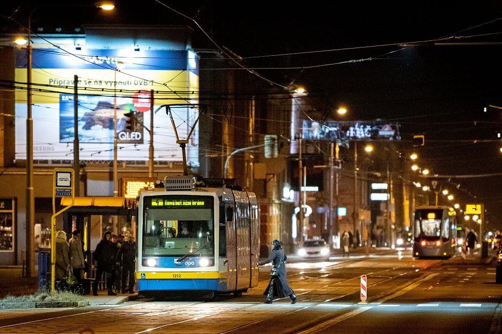 Ostravská městská část Mariánské Hory a Hulváky, 6. února 2020.