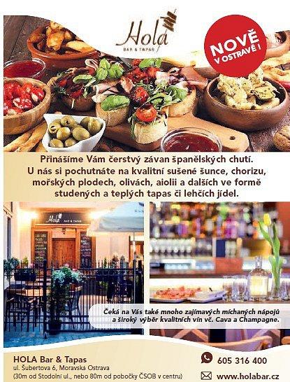 Hola Bar Tapas Ostrava