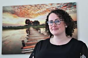 Veronika Raszková, vedoucí střediska Slezské diakonie v Ostravě-Nové Vsi.