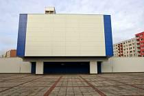 Zrekonstruované kino Máj. V budově dnes sídlí depozitář Ostravského muzea.