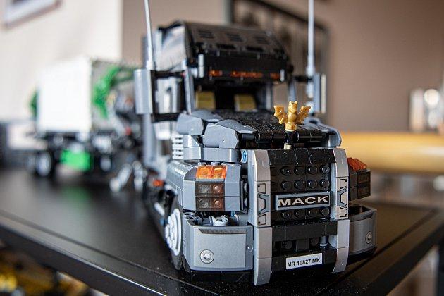 Sběratel má modely LEGO Technic, 30.března 2021vOstravě.