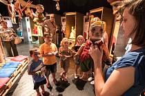 Děti se v Divadle loutek mohou zabavit i naučit něčemu novému.