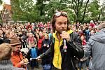 Soutěžní snímek kapely Kryštof k předposlední úkolu.