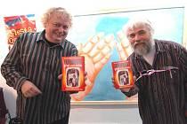 Autoři knihy (zleva) Břetislav Uhlář a Miroslav Sehnal