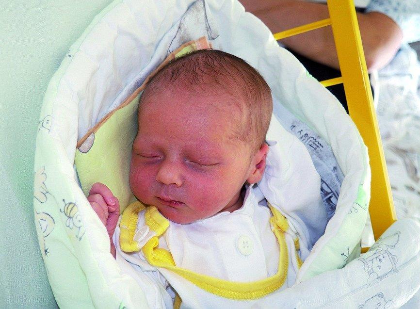 Lukáš Vandelt, narozena 17. 8. 2020, míra 46 cm, váha 3280 g, Ostrava. Fakultní nemocnice Ostrava.