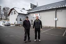 Majitelé Autodopravy Kokeš - Jaromír (vlevo) a Otmar Kokešovi.