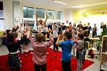 Základní škola Galaxie přijala první žáky v září 2014.