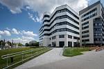 """""""Skelet"""", dnes Smart Innovation Center se zázemím pro start-upy a moderní technologie."""