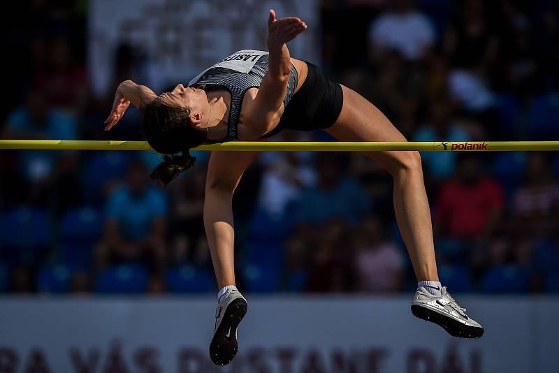 Zlatá tretra, atletický mítink IAAF World Challenge, 20. června 2019 v Ostravě. Na snímku Mariya Lasitskene.