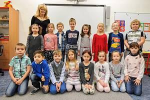 Žáci 1.C, Základní škola, Provaznická 831/64, Ostrava-Hrabůvka, s třídní učitelkou Renátou Maláškovou