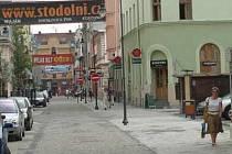 Stodolní ulice v centru Ostravy.