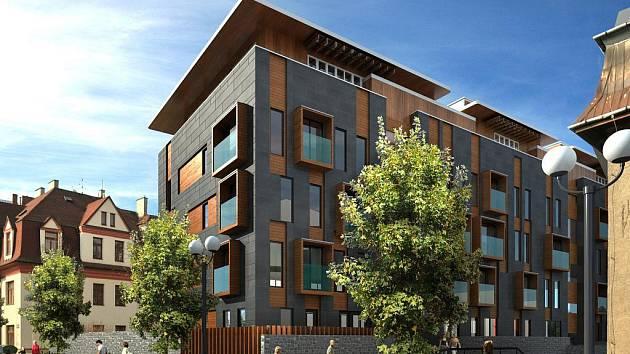 Tak bude vypadat nový bytový dům na Vítězné ulici v Ostravě.