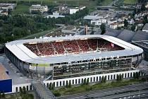 Nejnovější a nejmodernější fotbalový stadion ve Švýcarsku vyrostl v St. Gallenu.