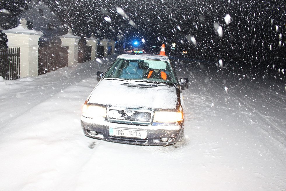 Dopravní nehoda Třanovice.