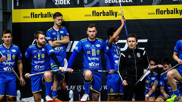 3. čtvrtfinále Tipsport Superligy: FBC Ostrava - Chodov, 9. března 2019 v Ostravě.