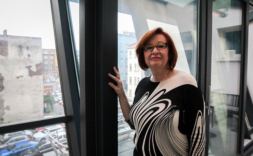 Ředitelka ostravské Komorní scény Aréna Renáta Huserová.