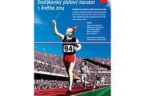 PLAKÁT k Dvořákovskému písňovému maratonu.