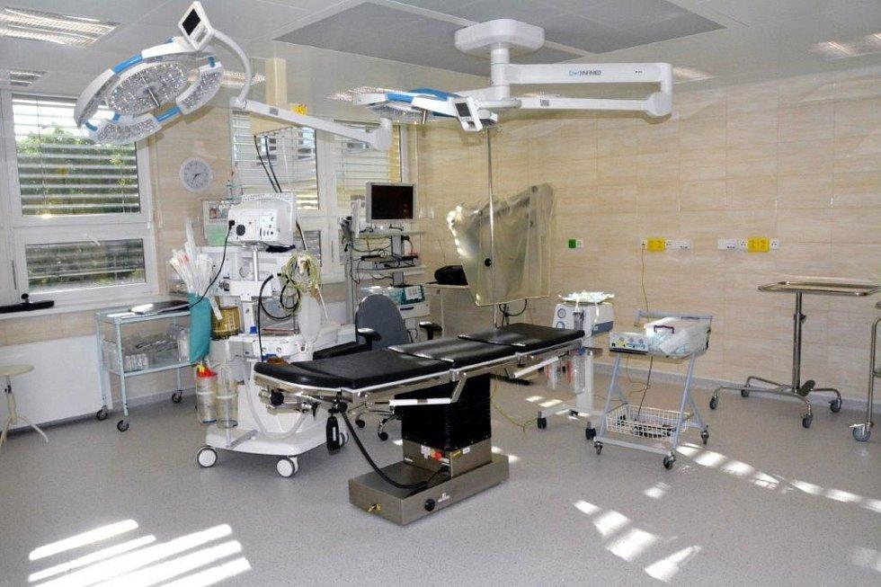 zrekonstruované prostory Městské nemocnice Ostrava
