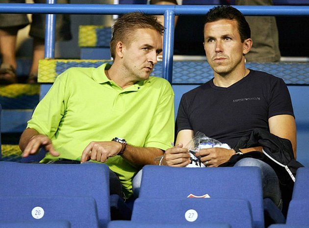 Tomáš Petera (vlevo) a Tomáš Galásek