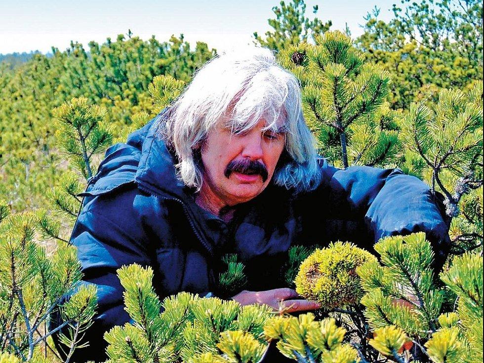 Jan Sláma ve své oblíbené přírodě.
