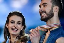 Gabriella Papadakis a Guillaume Cizeron.