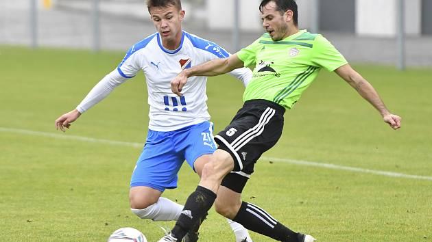 V 8. kole MSFL Baník Ostrava B porazil Vrchovinu 3:0.