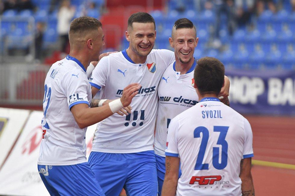 FC Baník Ostrava - FK Mladá Boleslav 1:0 (28. 8. 2021). Foto: FC Baník Ostrava