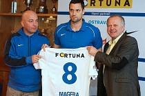 Lukáš Magera se v Baníku opět po letech potkal s trenérem Pavlem Malurou, který ho vedl v mládežnických týmech. Vytáhlý útočník je v Ostravě populární i kvůli kauze Temešvár, která tři roky plnila stránky novin.