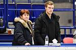 Mezinárodní mistrovství ČR v krasobruslení v Ostravar Aréně, 13. prosince 2019 v Ostravě. Na snímku Vlasta Kopřivová a Tomáš Verner.