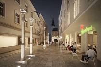 Projekt nájemního bydlení Nové Lauby. Prezentace architekta Martina Tycara z oceňovaného architektonického studia Znamení čtyř – architekti