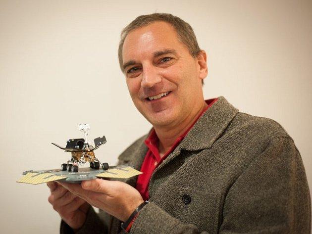 Geolog James Rice z NASA přednášel v Ostravě.