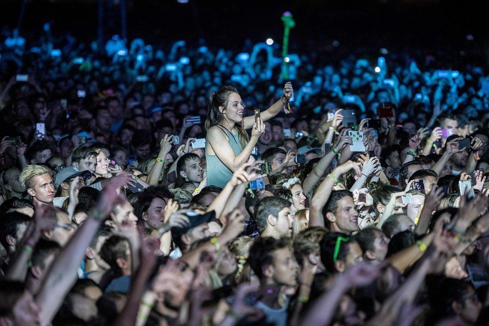 Hudební festival Colours of Ostrava v Ostravě 19. července 2017.