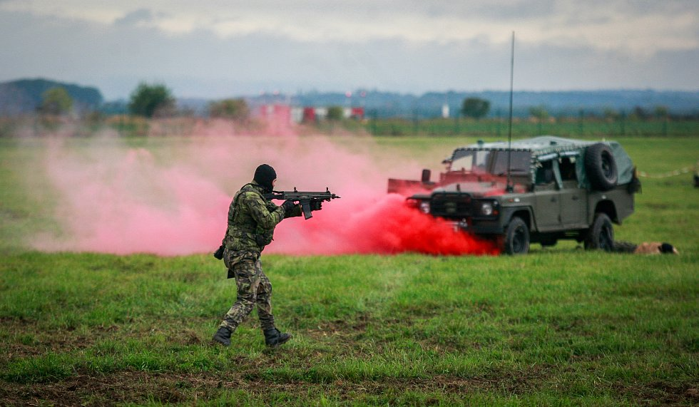 Dny NATO v Ostravě na letišti v Mošnově.