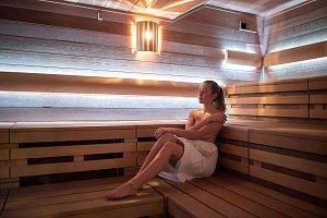 Sauna v ostravské Čapkárně