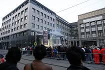 Slavnostní otevření Jet Set Kavárny Elektra v Ostravě.