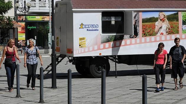 Kinematograf bratří Čadíků na ostravském Jiráskově náměstí. Ilustrační foto