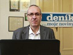 Jiří Carbol, kandidát KDU-ČSL na senátora z Frýdku-Místku byl hostem on-line rozhovoru Deníku.
