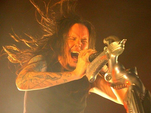 Z ostravského koncertu skupiny Korn