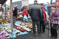 Češi tvoří na trzích v polském Zabelkówě převážnou část zákazníků.