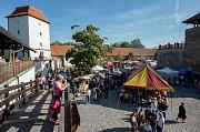 Festival moravských vín na Slezskoostravském hradě.