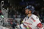 Utkání 35. kola hokejové extraligy: HC Vítkovice Ridera - HC Energie Karlovy Vary, 13. ledna 2019 v Ostravě. Na snímku Radoslav Tybor.