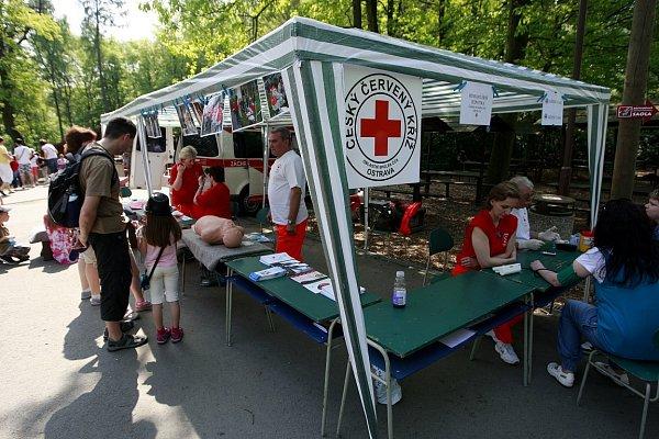 Vareálu zoo se vden státního svátku konala iakce Den první pomoci