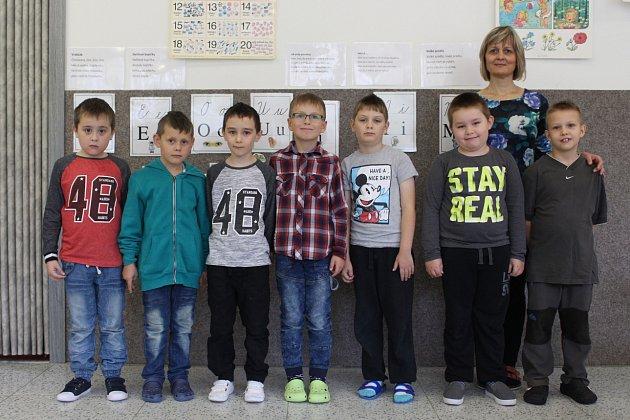 Žáci 1.A, ZŠ a MŠ Ukrajinská 19, Ostrava-Poruba