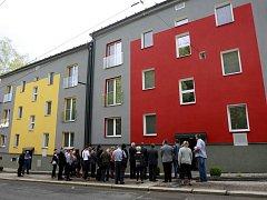 V rekordním čase osmi měsíců se podařilo zrekonstruovat dům v Heřmanické ulici v Ostravě.