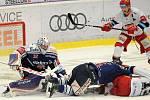 50. kolo hokejové extraligy:  Vítkovice Ridera – Hradec Králové 4:2 (1:0, 2:0, 1:2)