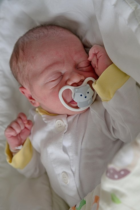 Samuel Koky, Karviná, narozen 21. července 2021 v Karviné, míra 48 cm, váha 3190 g. Foto: Marek Běhan