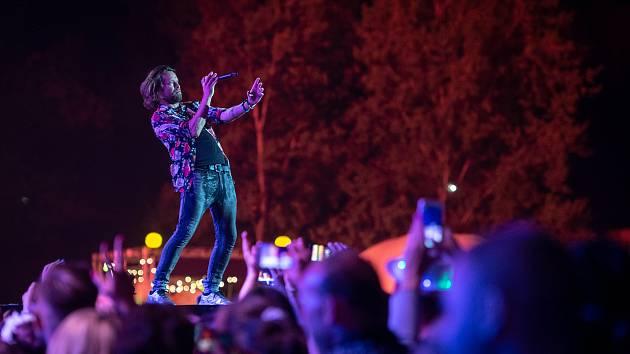 Kapela Kryštof na loňském ročníku festivalu Colours of Ostava.