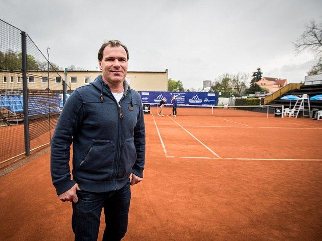 VÁCLAV ROUBÍČEK je ředitelem tradičního tenisového turnaje mužů Prosperita Open v Ostravě. Jako hráč to dotáhl na 135. místo světa.