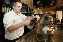 Pivnice u Rady je výjimečná i tím, že je zde speciální výčep, který najdete jen ve dvou restauracích v republice – U Dvou koček v Praze a právě v centru Ostravy.